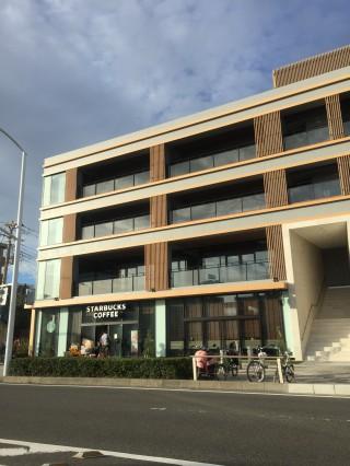江ノ島にスタバがオープン!