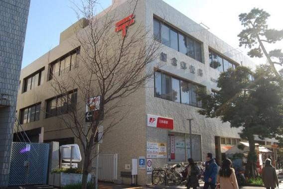 【鎌倉駅近くで駐車場あり】鎌倉郵便局の土日祝日でも荷物の受け取りが出来る便利なゆうゆう窓口